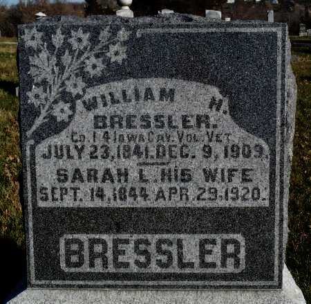 BRESSLER, WILLIAM H. - Worth County, Missouri | WILLIAM H. BRESSLER - Missouri Gravestone Photos