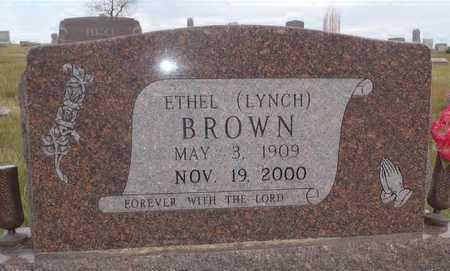 BROWN, ETHEL - Worth County, Missouri | ETHEL BROWN - Missouri Gravestone Photos