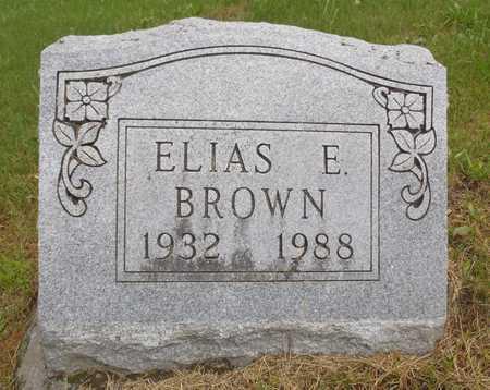 BROWN, ELIAS E. - Worth County, Missouri | ELIAS E. BROWN - Missouri Gravestone Photos