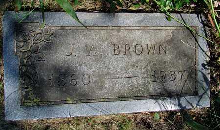 BROWN, JACOB ANDREW - Worth County, Missouri | JACOB ANDREW BROWN - Missouri Gravestone Photos
