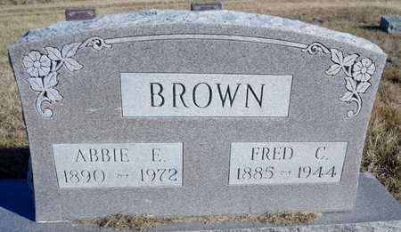 BROWN, FRED C. - Worth County, Missouri | FRED C. BROWN - Missouri Gravestone Photos