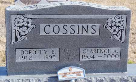 COSSINS, CLARENCE A. - Worth County, Missouri | CLARENCE A. COSSINS - Missouri Gravestone Photos