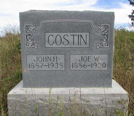 COSTIN, JOE W. - Worth County, Missouri | JOE W. COSTIN - Missouri Gravestone Photos