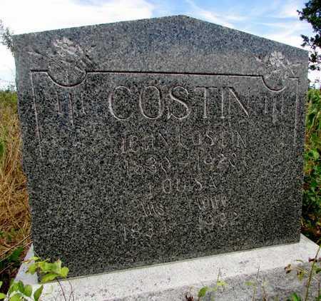 ASHER COSTIN, LOUISA - Worth County, Missouri | LOUISA ASHER COSTIN - Missouri Gravestone Photos
