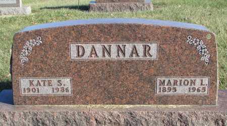"DANNAR, MARION LEWIS ""JAKE"" - Worth County, Missouri | MARION LEWIS ""JAKE"" DANNAR - Missouri Gravestone Photos"