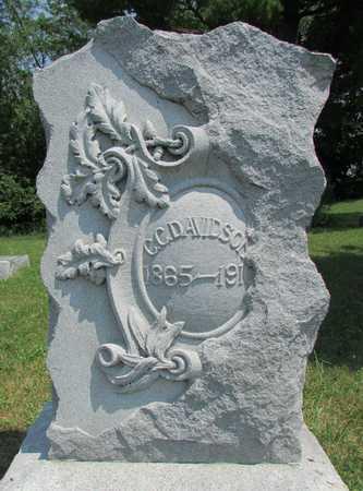DAVIDSON, CHARLES COLONEL - Worth County, Missouri   CHARLES COLONEL DAVIDSON - Missouri Gravestone Photos
