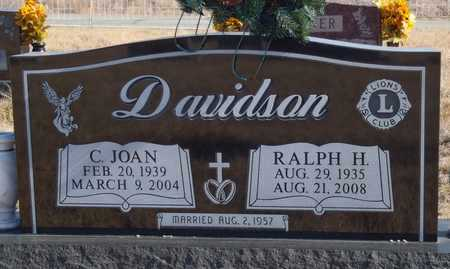DAVIDSON, CHARLOTTE JOAN - Worth County, Missouri | CHARLOTTE JOAN DAVIDSON - Missouri Gravestone Photos