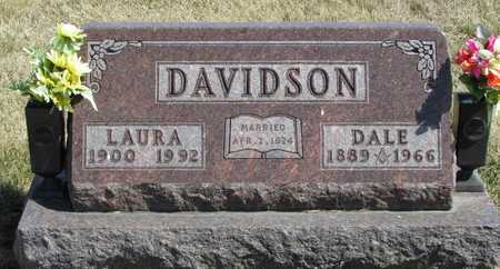 DAVIDSON, LAURA - Worth County, Missouri | LAURA DAVIDSON - Missouri Gravestone Photos