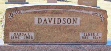 DAVIDSON, GARSA L. - Worth County, Missouri | GARSA L. DAVIDSON - Missouri Gravestone Photos