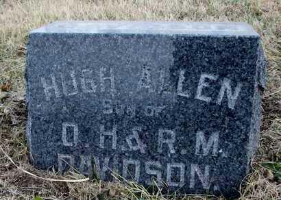 DAVIDSON, HUGH ALLEN - Worth County, Missouri | HUGH ALLEN DAVIDSON - Missouri Gravestone Photos