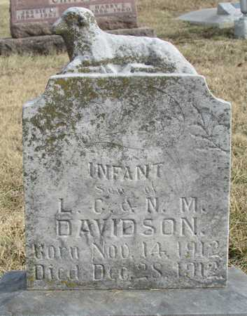 DAVIDSON, INFANT SON - Worth County, Missouri | INFANT SON DAVIDSON - Missouri Gravestone Photos
