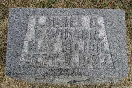 DAVIDSON, LAUREL O. - Worth County, Missouri   LAUREL O. DAVIDSON - Missouri Gravestone Photos