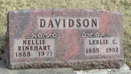 DAVIDSON, LESLIE CLEVELAND - Worth County, Missouri | LESLIE CLEVELAND DAVIDSON - Missouri Gravestone Photos