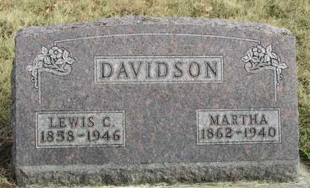 DAVIDSON, LEWIS C. - Worth County, Missouri | LEWIS C. DAVIDSON - Missouri Gravestone Photos