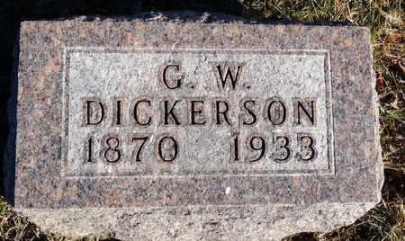 DICKERSON, GEORGE WILLIS - Worth County, Missouri   GEORGE WILLIS DICKERSON - Missouri Gravestone Photos