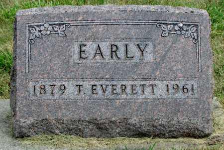 EARLY, T. EVERETT - Worth County, Missouri | T. EVERETT EARLY - Missouri Gravestone Photos