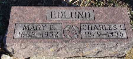 EDLUND, MARY E. - Worth County, Missouri | MARY E. EDLUND - Missouri Gravestone Photos