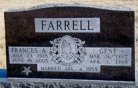 BUNTING  FARRELL, FRANCIS AILEEN - Worth County, Missouri   FRANCIS AILEEN BUNTING  FARRELL - Missouri Gravestone Photos