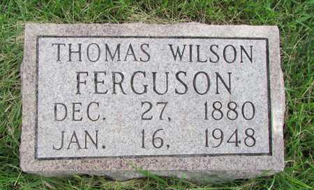 FERGUSON, THOMAS WILSON - Worth County, Missouri | THOMAS WILSON FERGUSON - Missouri Gravestone Photos