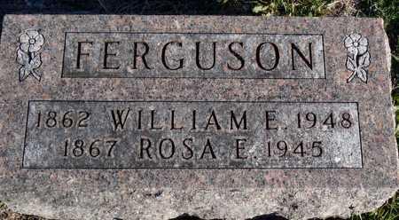 FERGUSON, WILLIAM E. - Worth County, Missouri | WILLIAM E. FERGUSON - Missouri Gravestone Photos