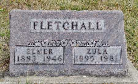 RINEHART FLETCHALL, ZULA BELLE - Worth County, Missouri   ZULA BELLE RINEHART FLETCHALL - Missouri Gravestone Photos