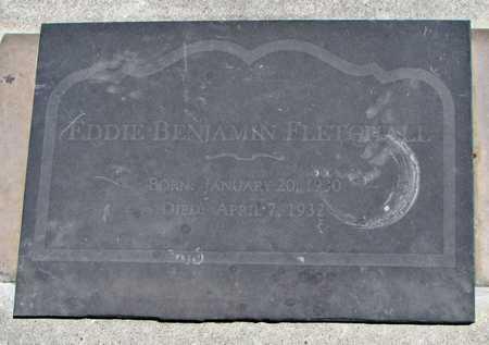 FLETCHALL, EDDIE BENJAMIN - Worth County, Missouri   EDDIE BENJAMIN FLETCHALL - Missouri Gravestone Photos