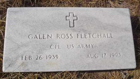 FLETCHALL, GALEN ROSS - Worth County, Missouri   GALEN ROSS FLETCHALL - Missouri Gravestone Photos