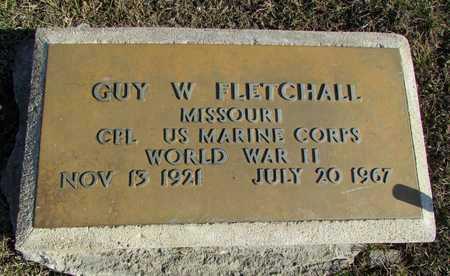 FLETCHALL, GUY W. VETERAN WWII - Worth County, Missouri | GUY W. VETERAN WWII FLETCHALL - Missouri Gravestone Photos