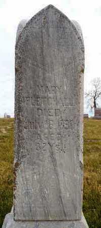 LAMBERT FLETCHALL, MARY - Worth County, Missouri | MARY LAMBERT FLETCHALL - Missouri Gravestone Photos