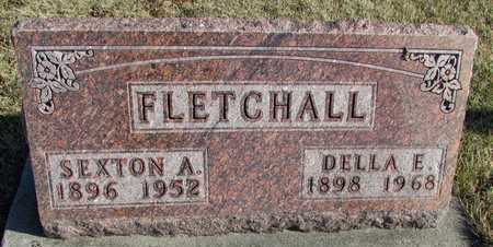 FLETCHALL, DELLA ETHEL - Worth County, Missouri | DELLA ETHEL FLETCHALL - Missouri Gravestone Photos
