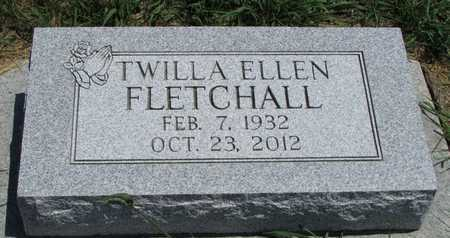 FLETCHALL, TWILLA ELLEN - Worth County, Missouri | TWILLA ELLEN FLETCHALL - Missouri Gravestone Photos