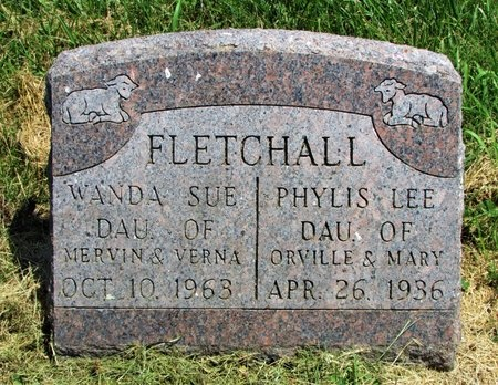 FLETCHALL, PHYLIS LEE - Worth County, Missouri | PHYLIS LEE FLETCHALL - Missouri Gravestone Photos