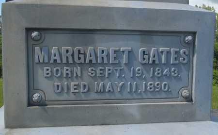 GATES, MARGARET - Worth County, Missouri   MARGARET GATES - Missouri Gravestone Photos