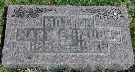 HAUBER, MARY ELIZABETH - Worth County, Missouri | MARY ELIZABETH HAUBER - Missouri Gravestone Photos