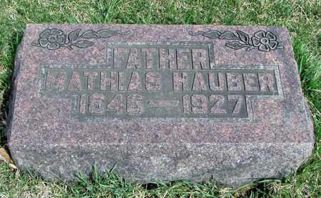 HAUBER, MATHIAS - Worth County, Missouri | MATHIAS HAUBER - Missouri Gravestone Photos