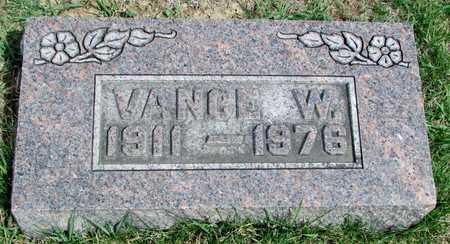 HAUBER, VANCE W. - Worth County, Missouri | VANCE W. HAUBER - Missouri Gravestone Photos