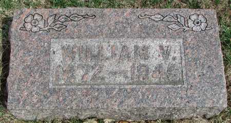 HAUBER, WILLIAM V. - Worth County, Missouri | WILLIAM V. HAUBER - Missouri Gravestone Photos