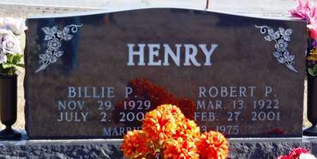 HENRY, BILLIE P. - Worth County, Missouri | BILLIE P. HENRY - Missouri Gravestone Photos
