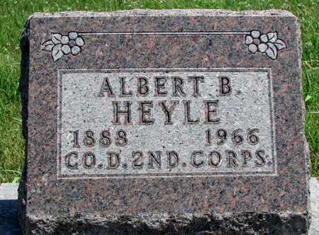 HEYLE, ALBERT B. VETERAN WWI - Worth County, Missouri   ALBERT B. VETERAN WWI HEYLE - Missouri Gravestone Photos