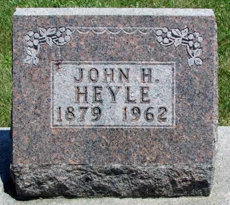 HEYLE, JOHN H - Worth County, Missouri   JOHN H HEYLE - Missouri Gravestone Photos