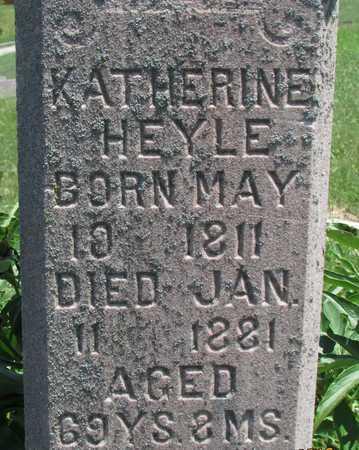 HEYLE, KATHERINE - Worth County, Missouri | KATHERINE HEYLE - Missouri Gravestone Photos