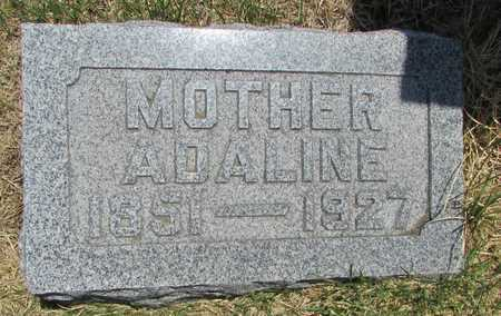 HIBBS, ADALINE - Worth County, Missouri | ADALINE HIBBS - Missouri Gravestone Photos
