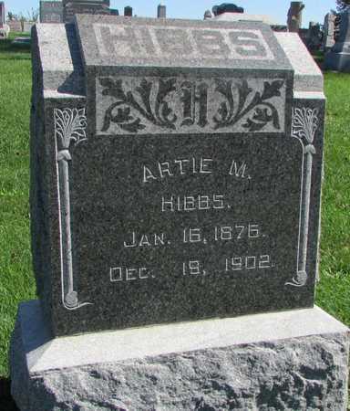 HIBBS, ARTIE M. - Worth County, Missouri | ARTIE M. HIBBS - Missouri Gravestone Photos