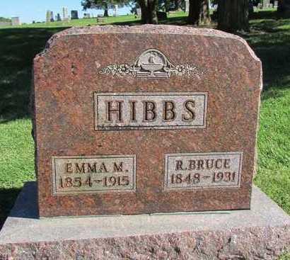HIBBS, ROBERT BRUCE - Worth County, Missouri | ROBERT BRUCE HIBBS - Missouri Gravestone Photos