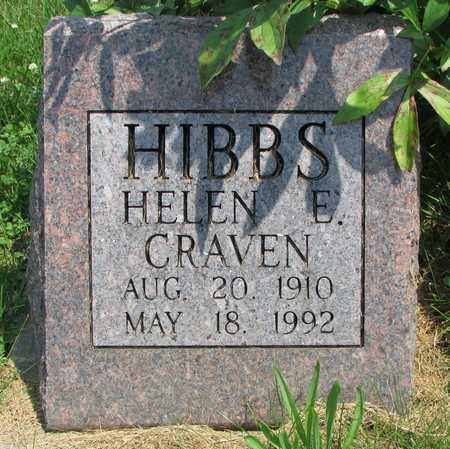 HIBBS, HELEN ELIZABETH - Worth County, Missouri | HELEN ELIZABETH HIBBS - Missouri Gravestone Photos