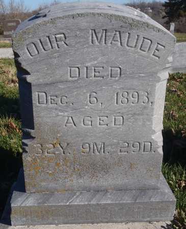 HIBBS, MAUDE - Worth County, Missouri   MAUDE HIBBS - Missouri Gravestone Photos