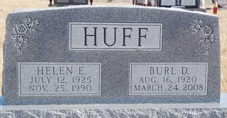 HUFF, HELEN EVA - Worth County, Missouri | HELEN EVA HUFF - Missouri Gravestone Photos