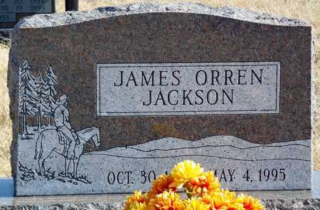 JACKSON, JAMES ORREN - Worth County, Missouri | JAMES ORREN JACKSON - Missouri Gravestone Photos