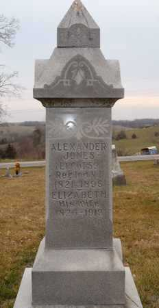 JONES, ALEXANDER - Worth County, Missouri | ALEXANDER JONES - Missouri Gravestone Photos