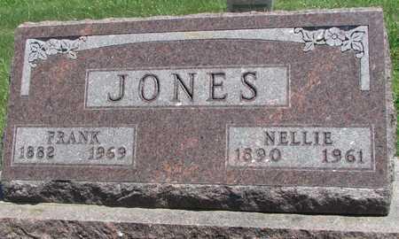JONES, FRANK - Worth County, Missouri | FRANK JONES - Missouri Gravestone Photos